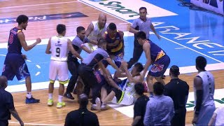 Late game scuffle | PBA Commissioner's Cup 2018 thumbnail