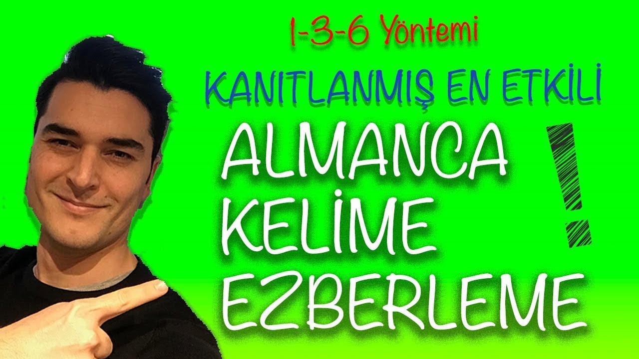 ALMANCA KELİME EZBERLEME YÖNTEMİ ! ( Hafıza Teknikleri )