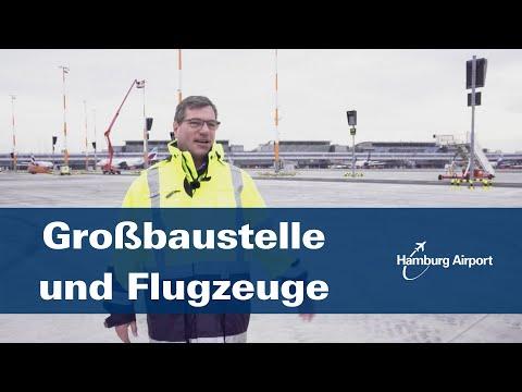 Großbaustelle und Flugzeuge | Hamburg Airport