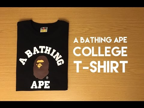 A Bathing Ape College T-Shirt - Review
