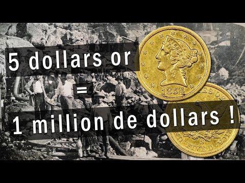 Une Pièce D'or De 5 Dollars Que L'on Croyait Fausse Vaut Un Million De Dollars