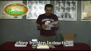 Malt Extract Kit Beer Brewing Demo at the Grape and Granary, Akron Ohio
