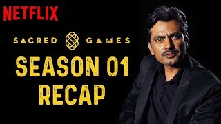 Sacred Games Season 1 RECAP | Sacred Games 2 | 15th August Only On Netflix