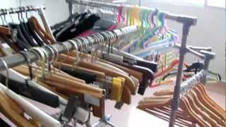 Guangzhou Qianwan Mannequin And Hanger  Manufacturer ,wood Pant Hanger.mov