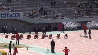 福島千里 11.21(+1.7)日本新 2010織田記念陸上 女子100m 福島千里 検索動画 14