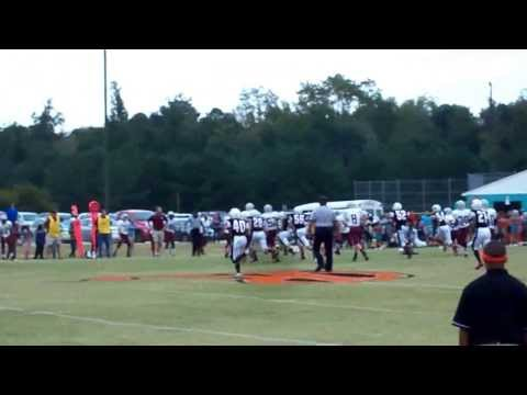 10/17/2013 - Riverwood Ravens Middle School: 16 vs. McGees Crossroads Middle School: 0
