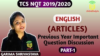 TCS SAMPLE PAPER 2020 Verbal Questions and Answers !! Must Watch