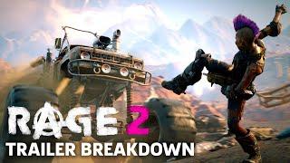 Rage 2 Gameplay Trailer Breakdown