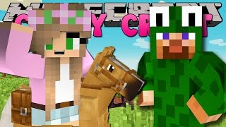 Minecraft - CRAZY CRAFT 3.0 - LITTLE LIZARD GOT LITTLE KELLY A HORSE!