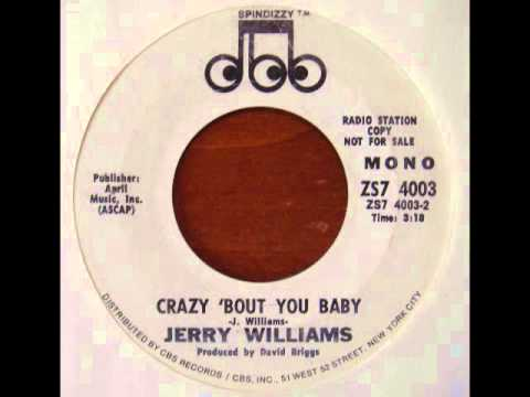 Jerry Williams - Crazy 'Bout You Baby (70's Stoner Rock/Heavy Psych)
