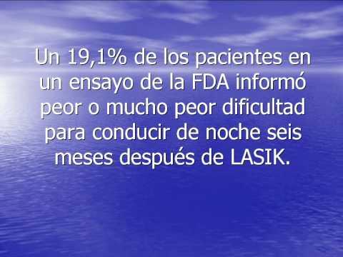 Diez razones para no hacerse la cirugia LASIK.