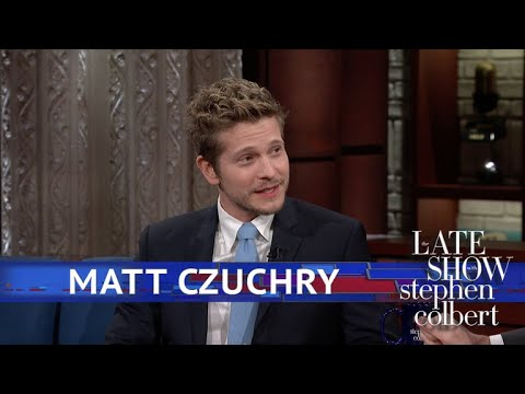 Matt Czuchry's Name Stumped Stephen