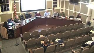 Nantucket Planning Board  1/13/20