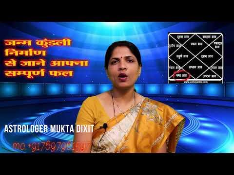 horoscope making  जन्म कुंडली से जाने अपने सम्पूर्ण जीवन का फल by muktajyotishs