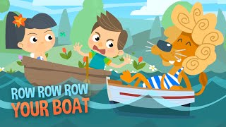 Row Row Row Your Boat | Nursery Rhymes | Kids Songs