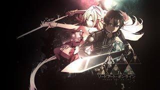 Аниме клип Sword Art Online /Warriors [Imagine Dragons] AMV