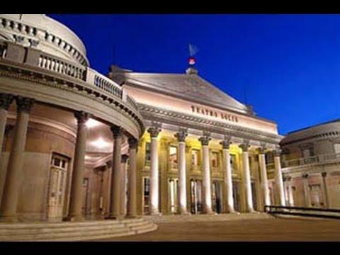 Visitando o Teatro Sólis - Visiting Solis Theatre -  Montevidéu - Uruguay - Uruguai - CVC