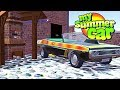 MY SUMMER NEW CONVERTIBLE! Buying a New Mansion - My Summer Car Gameplay Highlights Ep 102