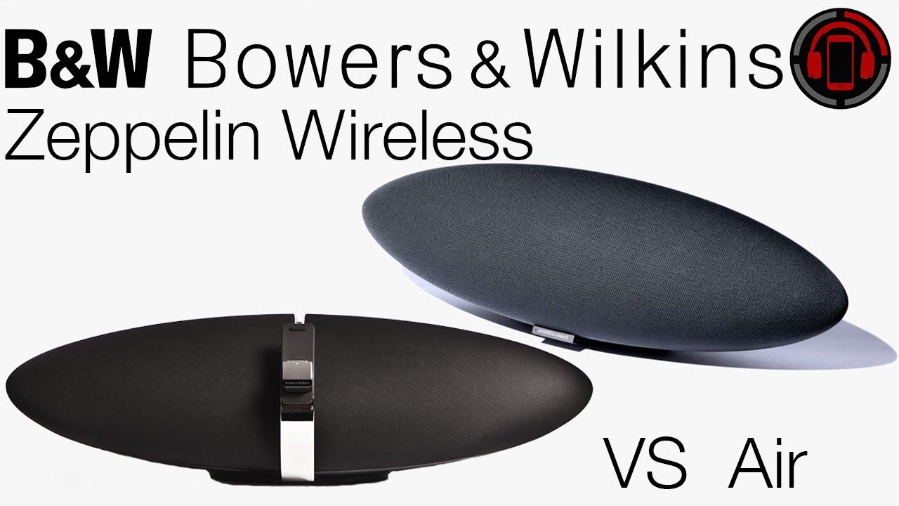 Bowers Wilkins Zeppelin Wireless Vs Zeppelin Air Deutschgerman