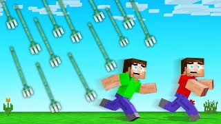 Minecraft BUT It's RAINING TRIDENTS!