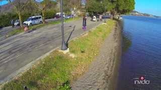 Trevignano VISTA DA UN DRONE (lago di Bracciano)