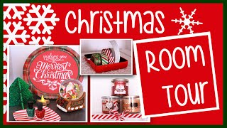 My Holiday Room Tour ♡ Red & Green, Christmas Style! ♡ Alovetart
