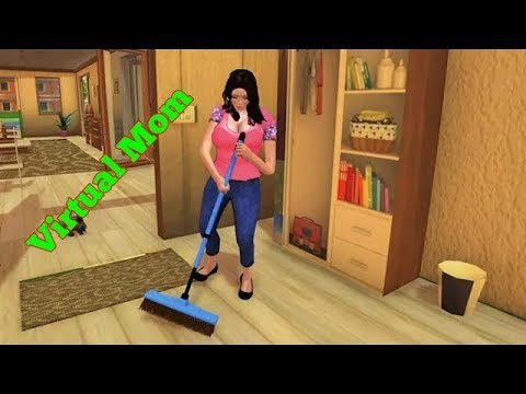 Virtual Family Happy Mom Sim 3D Android Gameplay