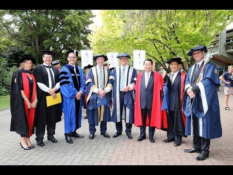 Honorary doctorate ceremony - Dr Dhanin Chearavanont | Massey University