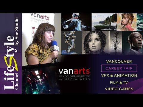 VanArts - Institute of Media Arts on LifeStyle Channel