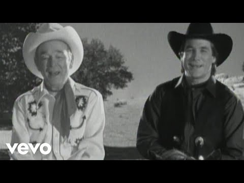 Roy Rogers, Clint Black - Hold On Partner