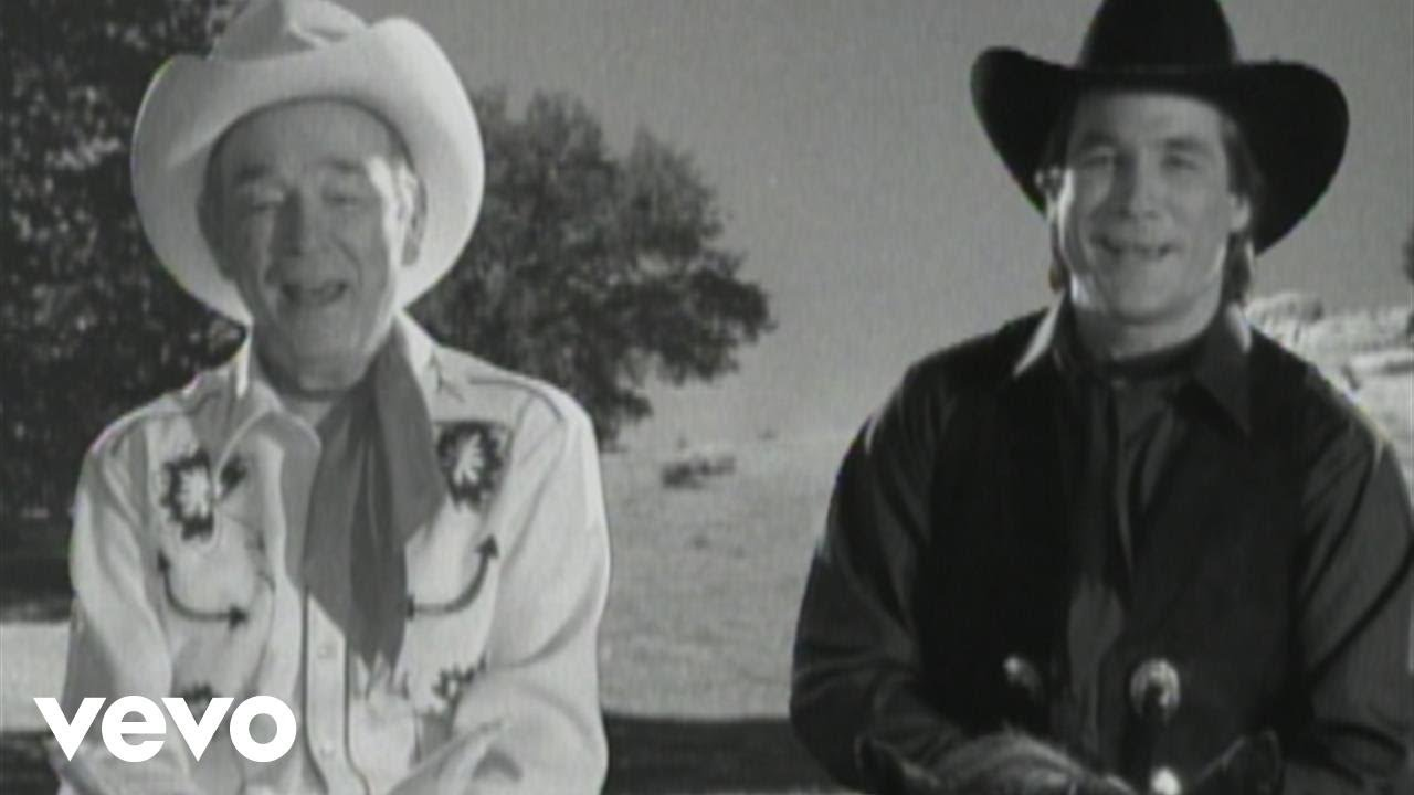 roy rogers clint black hold on partner youtube