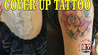 EN VIVO!!!!! COVERUP TATTOO