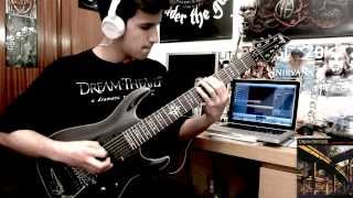 Dream Theater- The Dark Eternal Night (Full Guitar Cover) HD