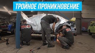 TRIPPLE PENETRATION ИЛИ ТРОЙНОЕ ПРОНИКНОВЕНИЕ! #ТехПорно