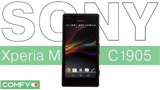 видеодемонстрация смартфона Sony Xperia M C1905