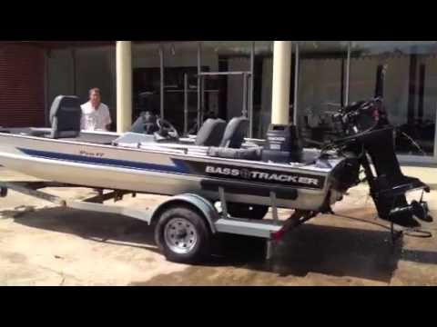 1993 17 39 Bass Tracker Tx17 Boat With 60 Hp Johnson
