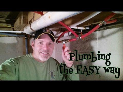 outdoor shower hose hook up