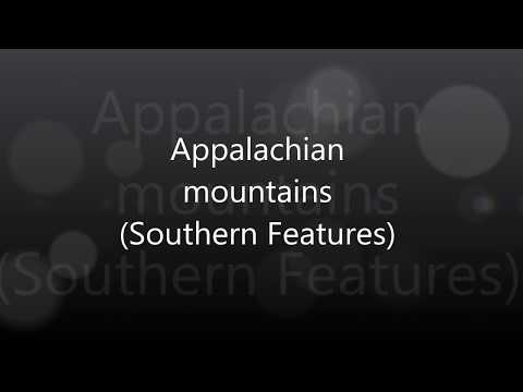 CC Week 12, Cycle 3, Geography Appalachian Mountains