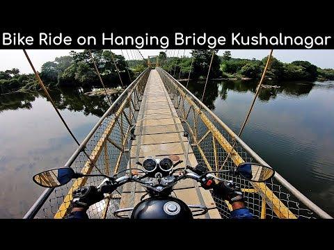Hanging Bridge Basavana Halli Kushalnagar tourism Coorg tourism Karnataka tourism bike ride