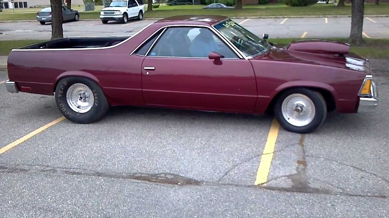 Buick Grand National >> 1982 Elcamino Big Block!! Hot Rod Power Tour 2012 - YouTube