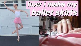 HOW I MAKE MY BALLET SKIRTS! |…