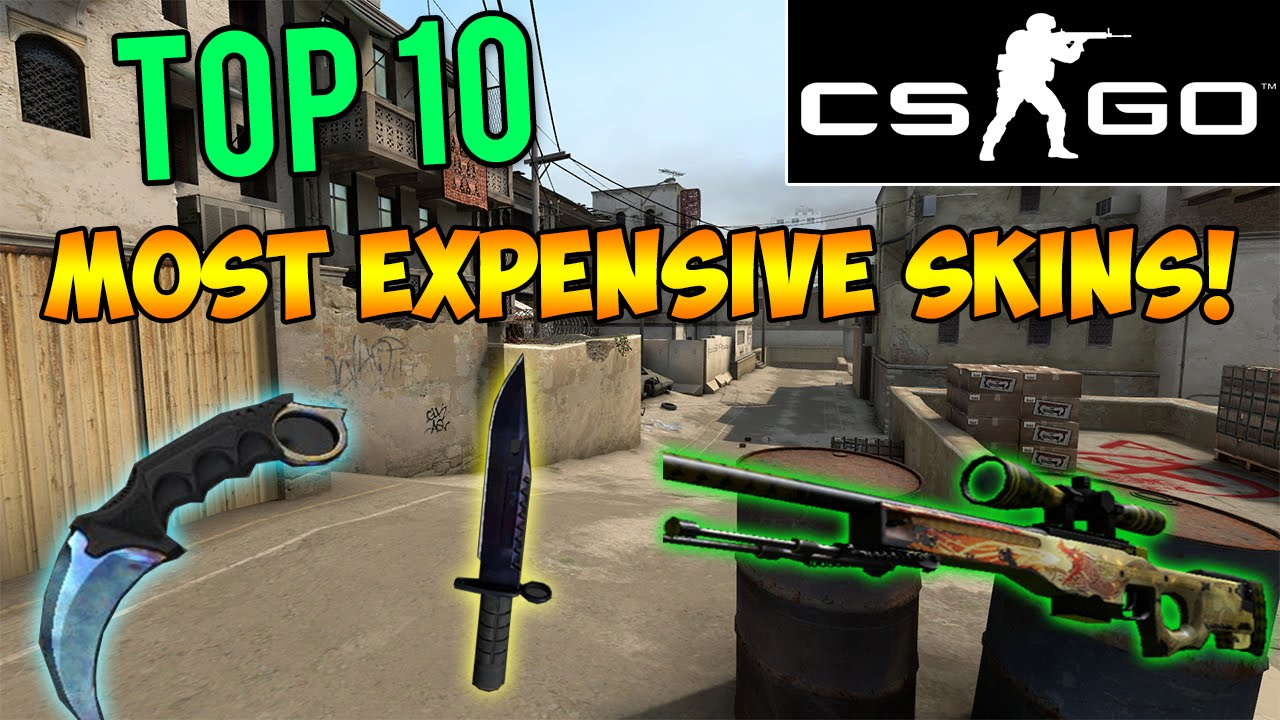 most expensive cs go skin