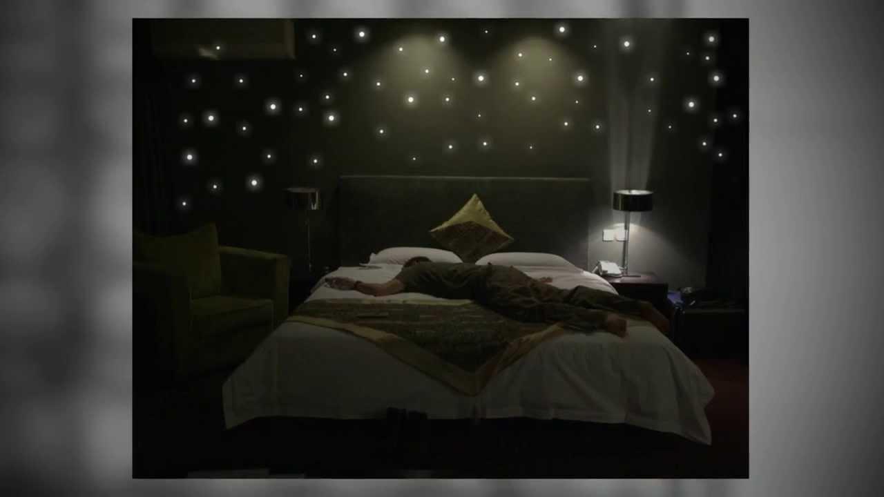 265 leuchtpunkte für sternenhimmel - youtube