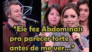 Sandy fala do inicio do Romance com Lucas Lima - Altas Horas 09/12/2017