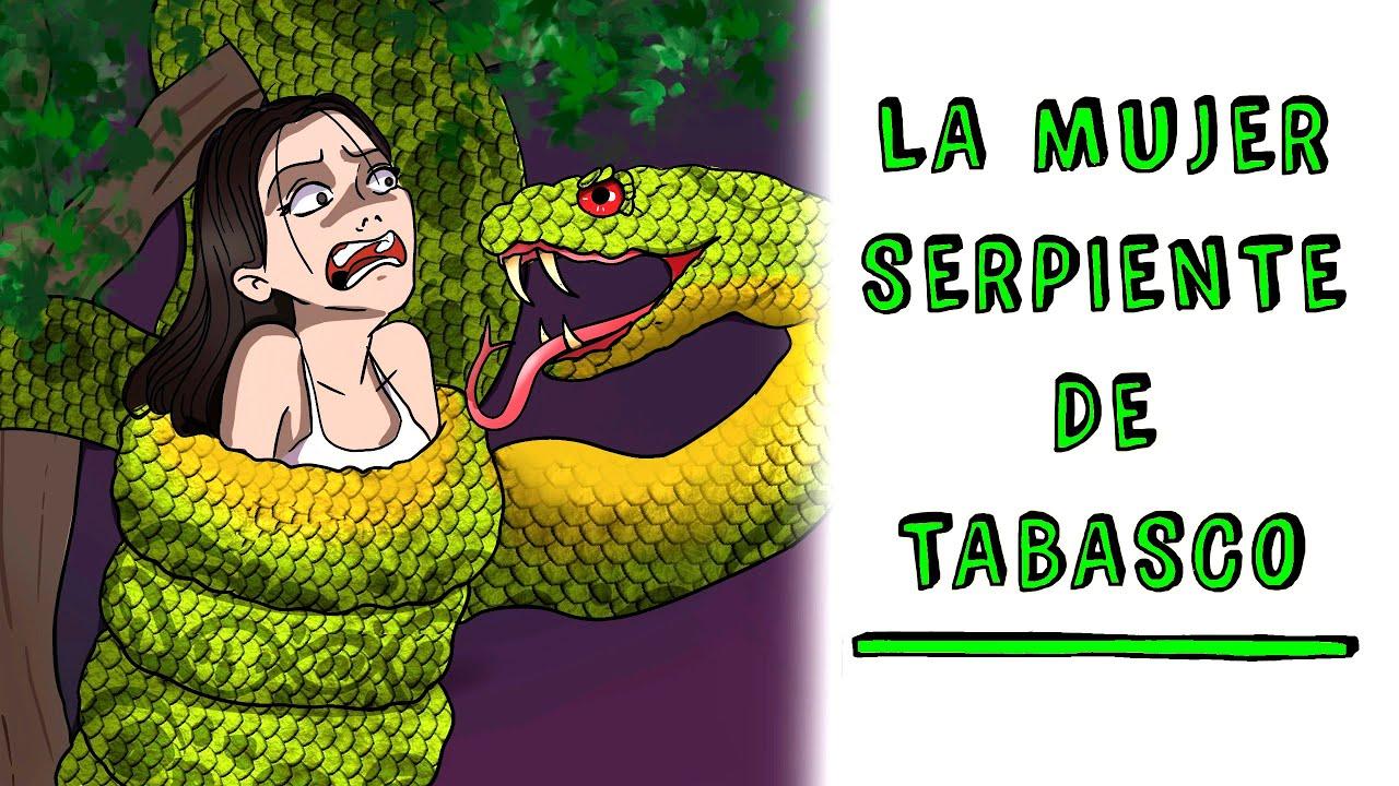La mujer serpiente de Tabasco 🐍 Historia de Terror Draw My Life
