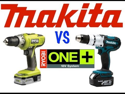 Af modish Ryobi 18v drill vs Makita 18v LXT drill - YouTube GP23