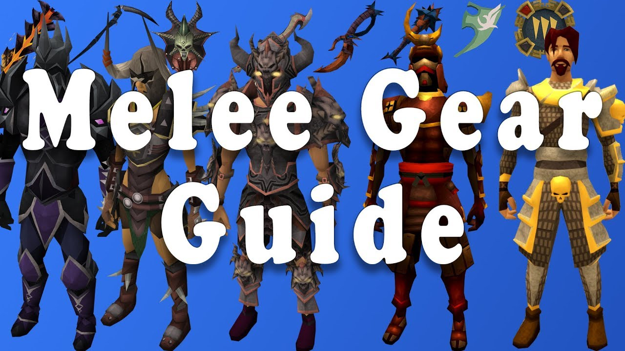 RuneScape 3: Melee Gearing Guide