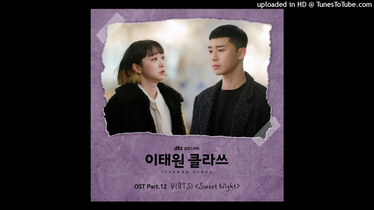 V (BTS) - Sweet Night (Instrumental) (Itaewon Class OST Part 12)