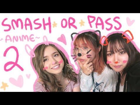 Smash Or Pass ANIME EDITION 2 ❤  Ft. Ariasaki & Pokimane