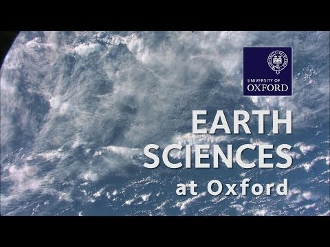 Earth Sciences at Oxford University